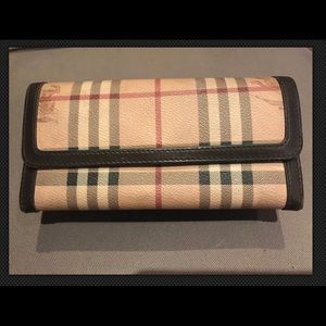 Burberry wallet - leather brown